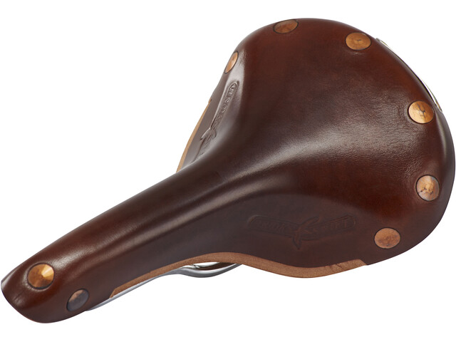 Brooks Swift Chrome Special Zadel van maïsleer, brown